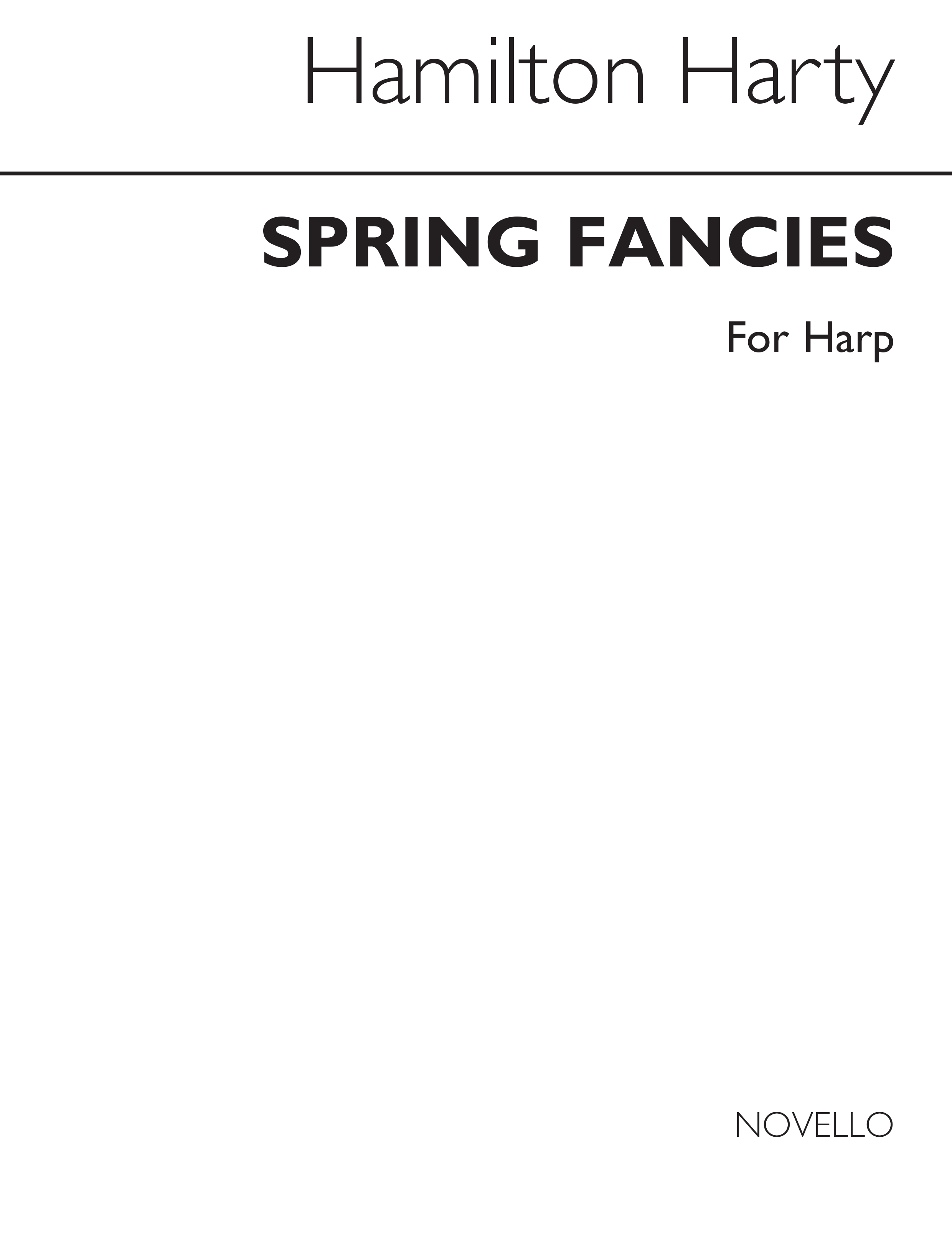 Hamilton Harty: Spring Fancies - Two Preludes for Harp: Harp: Instrumental Album