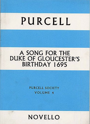 Henry Purcell: Purcell Society Volume 4: Opera: Score