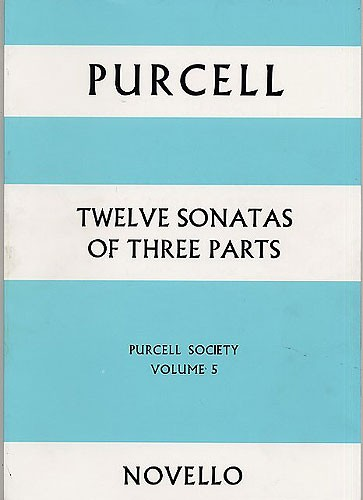 Henry Purcell: Purcell Society Volume 5: String Ensemble: Score