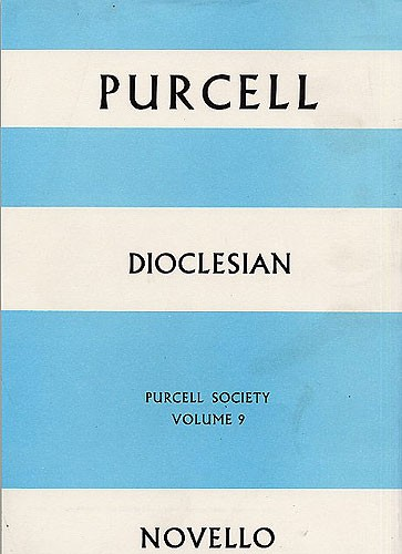Henry Purcell: Purcell Society Volume 9: SATB: Score