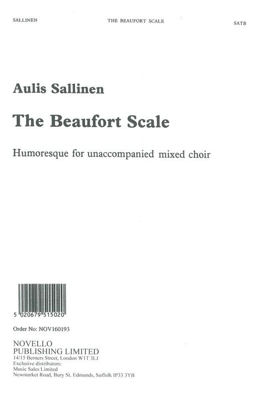 Aulis Sallinen: the Beaufort Scale Chant