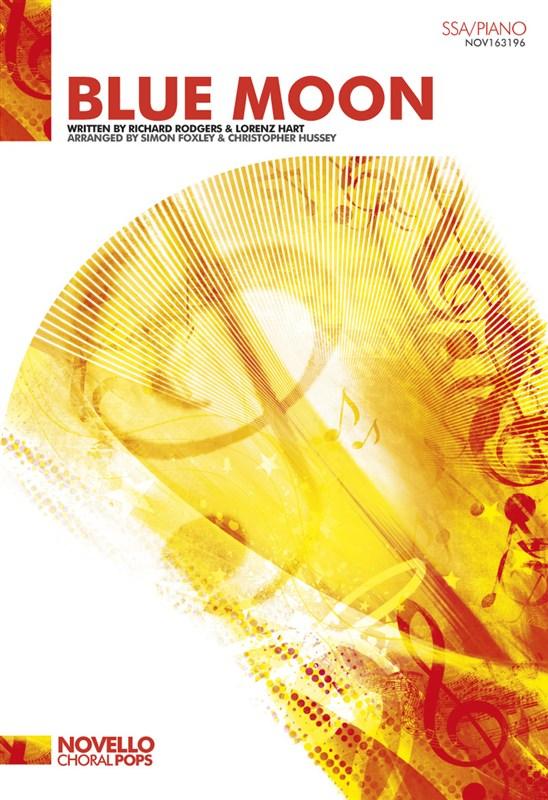 Lorenz Hart Richard Rodgers: Blue Moon - SSA/Piano: SSA: Vocal Score
