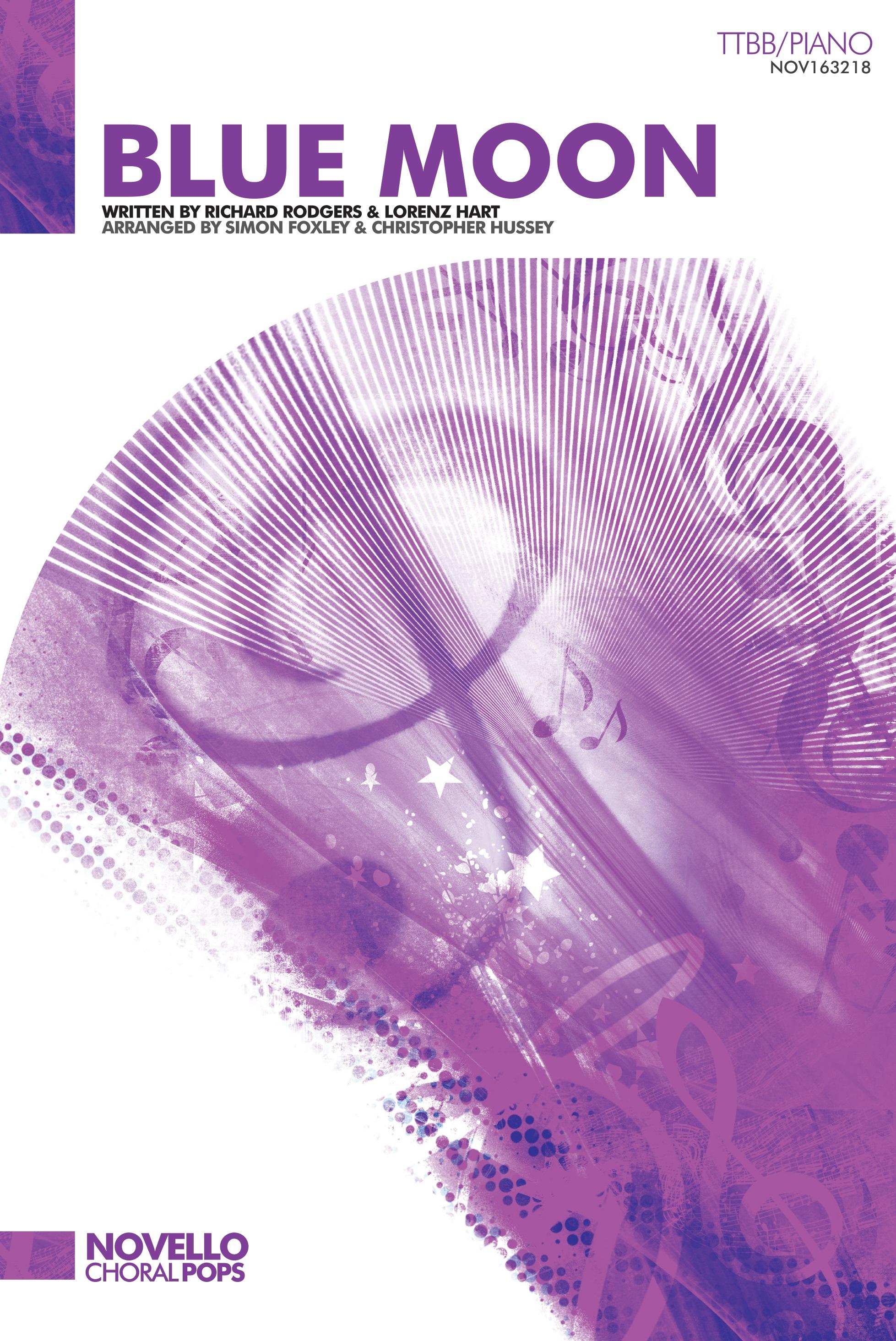 Lorenz Hart Richard Rodgers: Blue Moon: TTBB: Vocal Score
