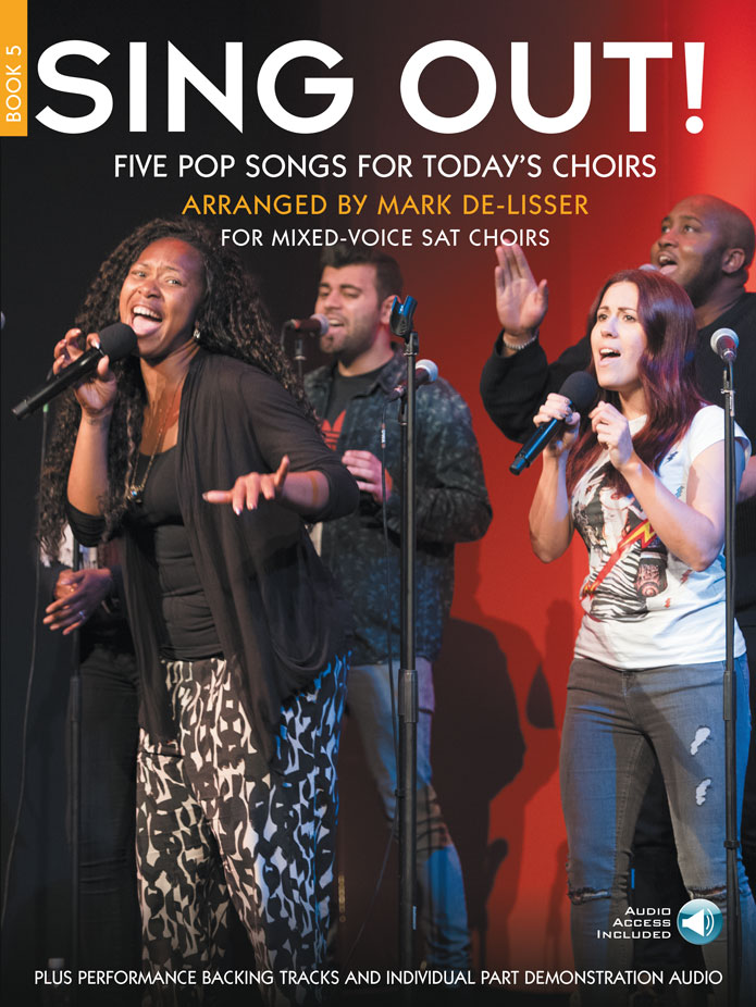Sing Out! 5 Pop Songs For Today's Choirs - Book 5: SAT: Vocal Score