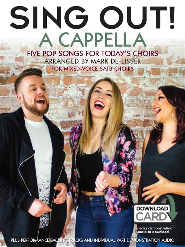 Sing Out! A Cappella: SATB: Vocal Score