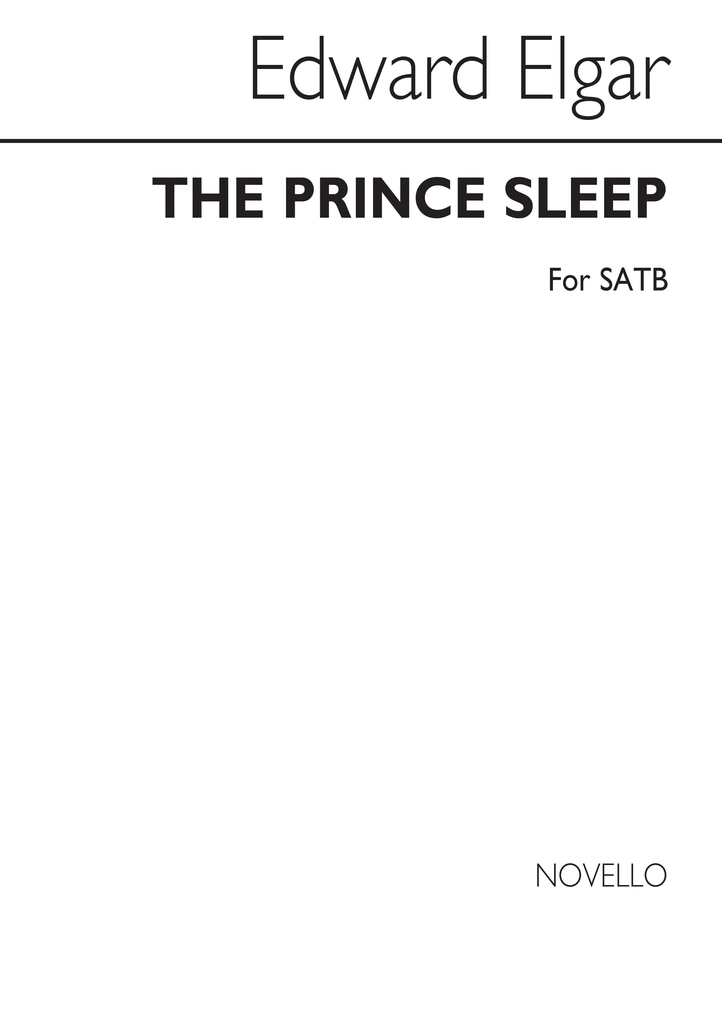Edward Elgar: The Prince Of Sleep: SATB: Vocal Score