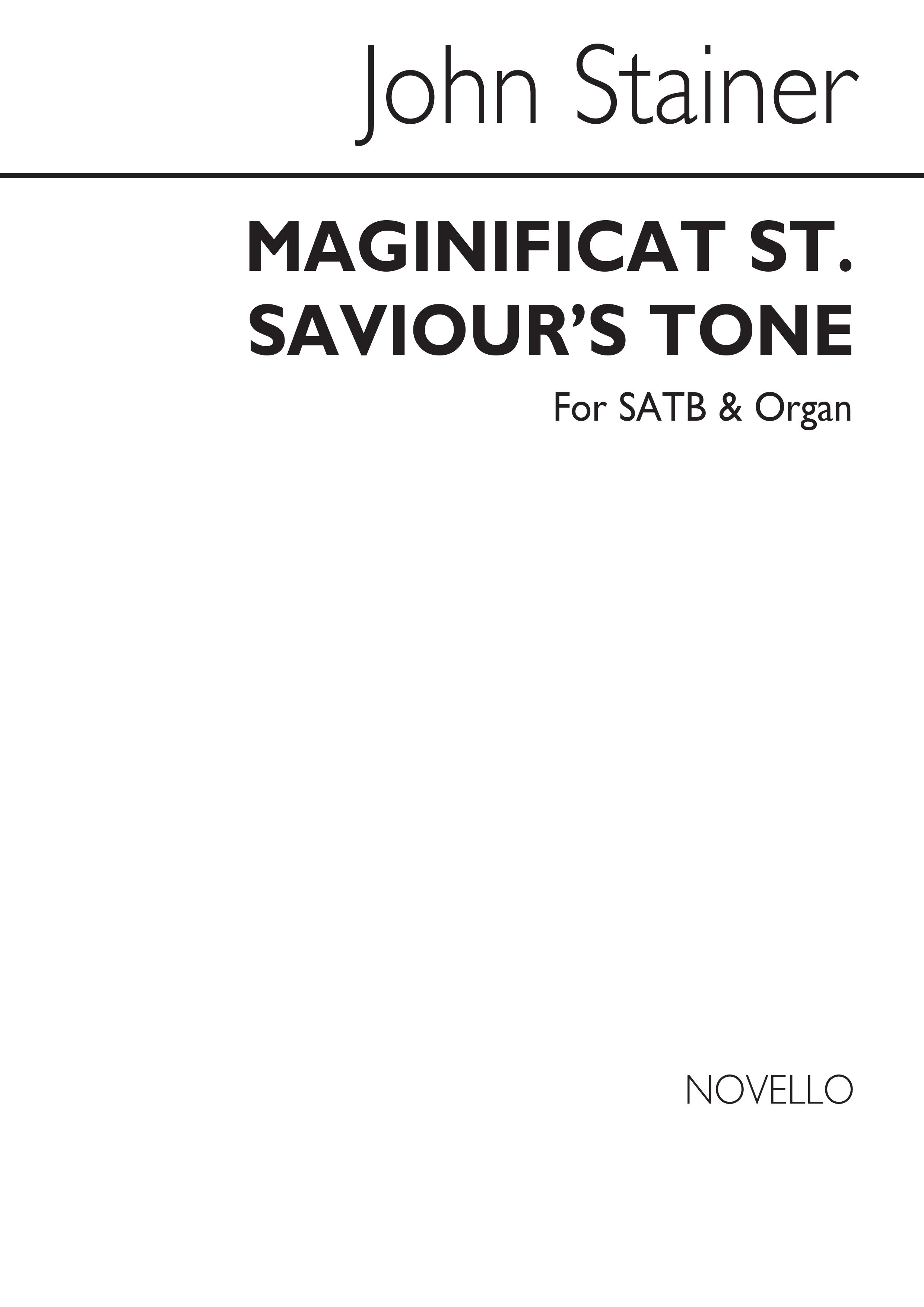 Sir John Stainer: Magnificat (St Saviour`s Tone): SATB: Vocal Score