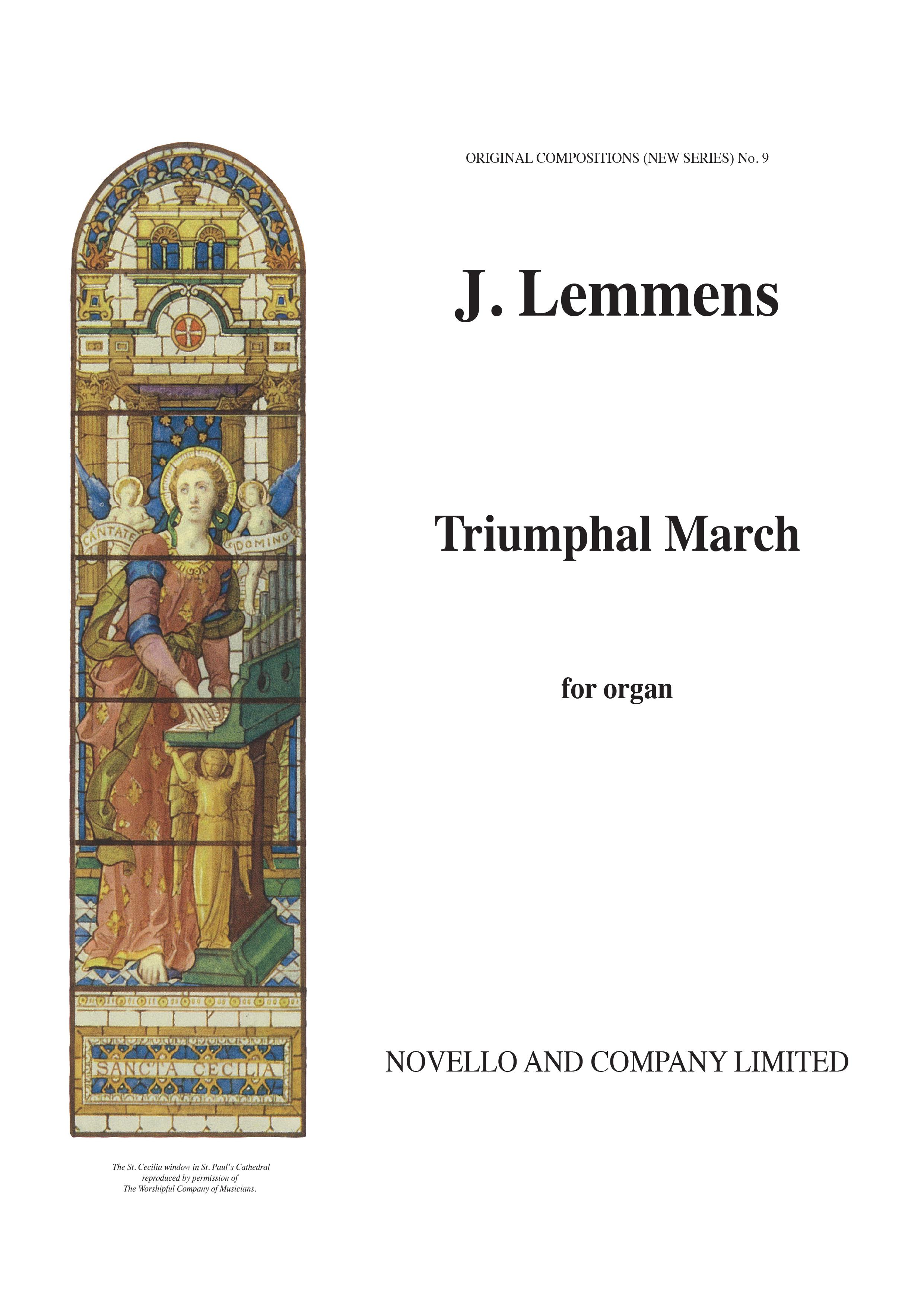 Nicolas-Jacques Lemmens: Triumphal March: Organ: Instrumental Work