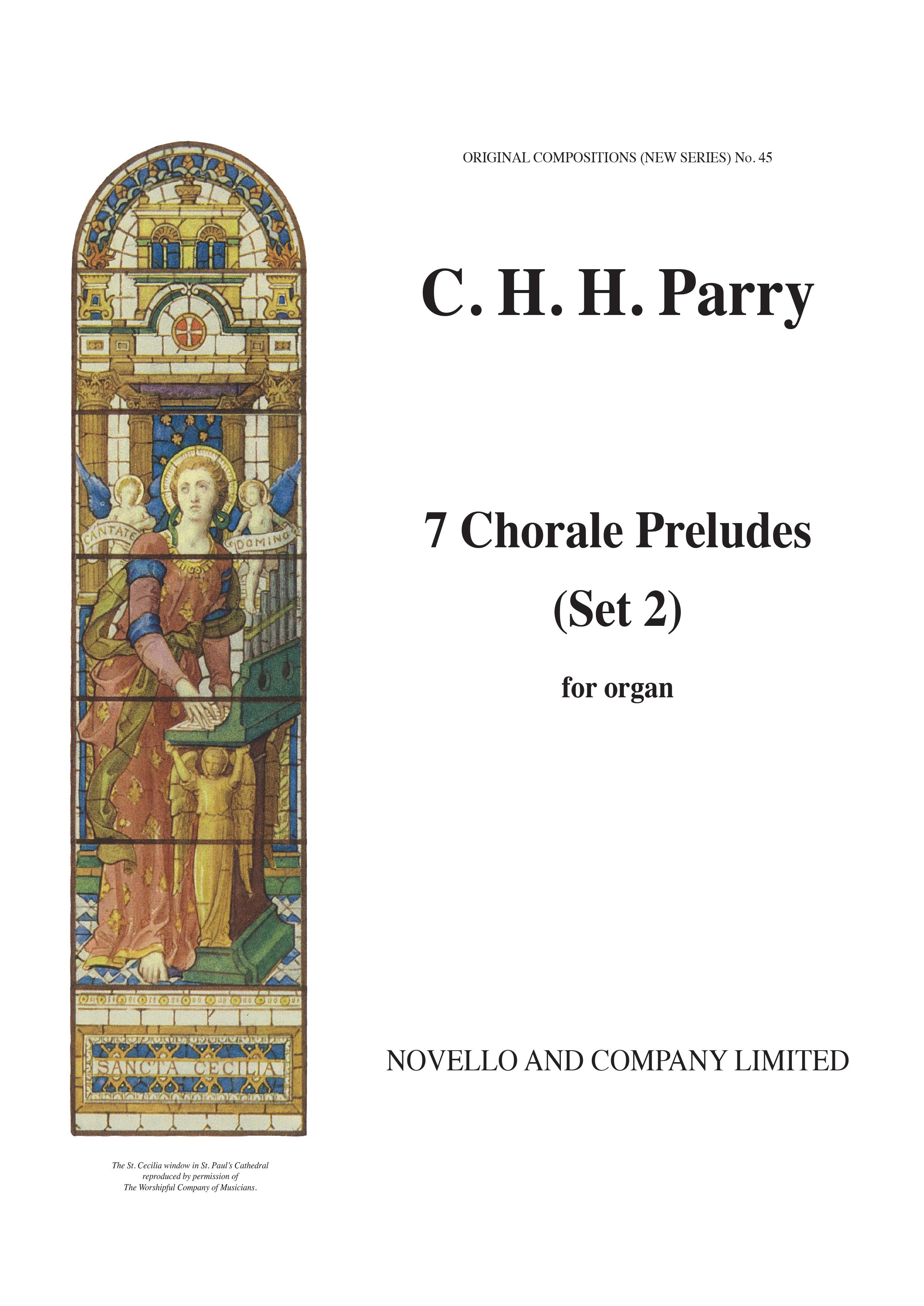 Hubert Parry: Seven Chorale Preludes Set 2: Organ: Instrumental Album