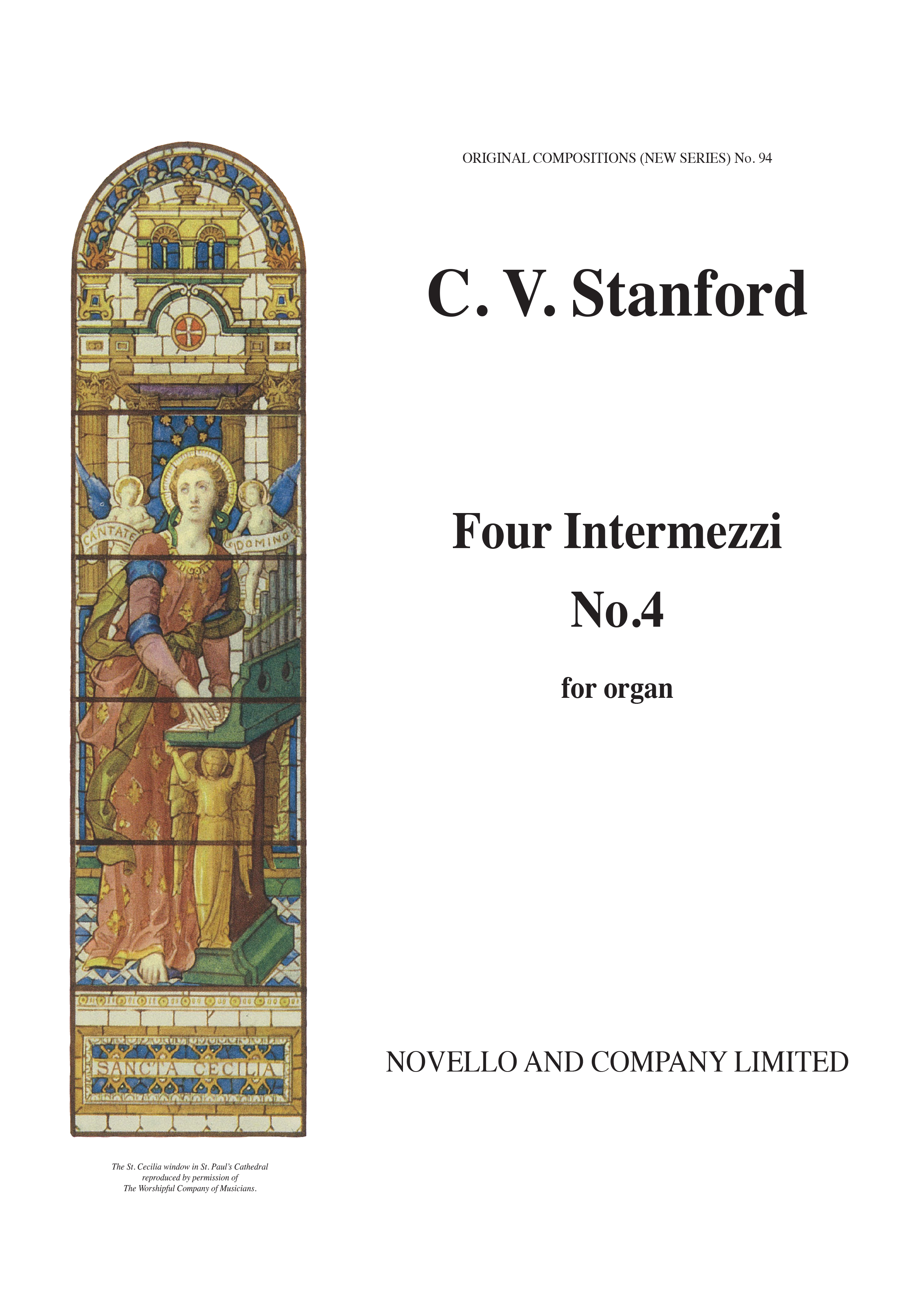 Charles Villiers Stanford: Intermezzo On An Irish Air: Organ: Instrumental Work
