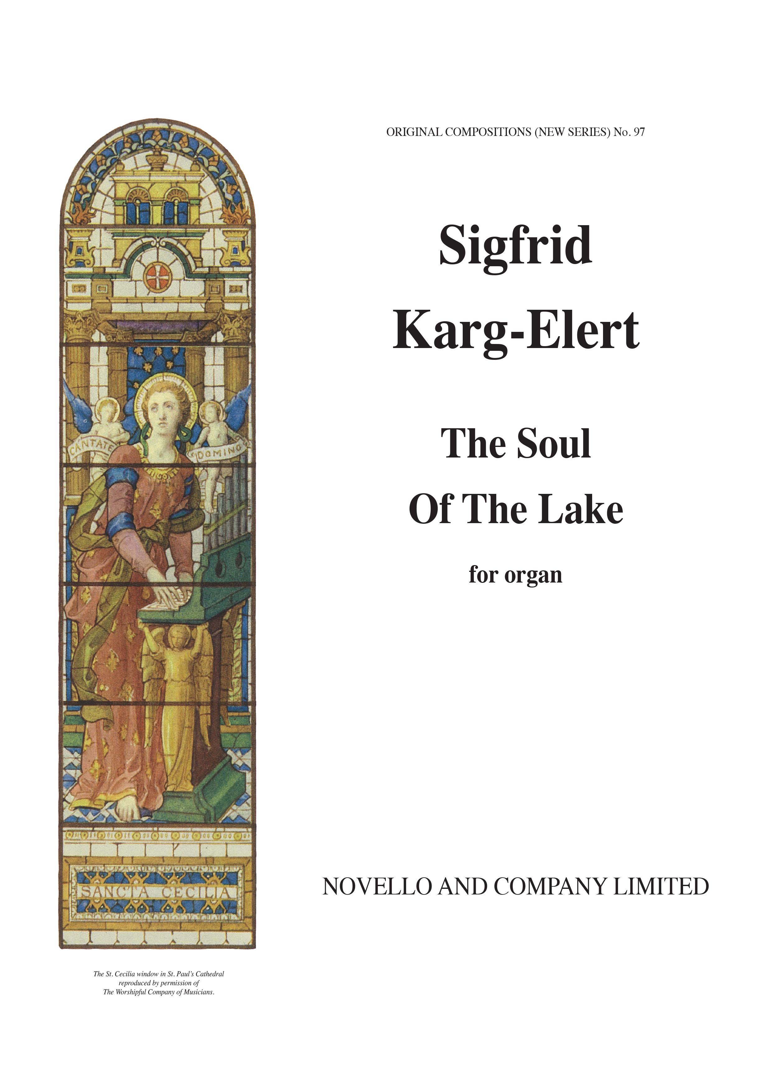 Sigfrid Karg-Elert: Pastels On 'Scenes From Lake Constance' Op.96: Organ: