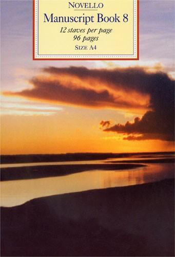 Novello Manuscript Book 8: A4 - Spiral Bound