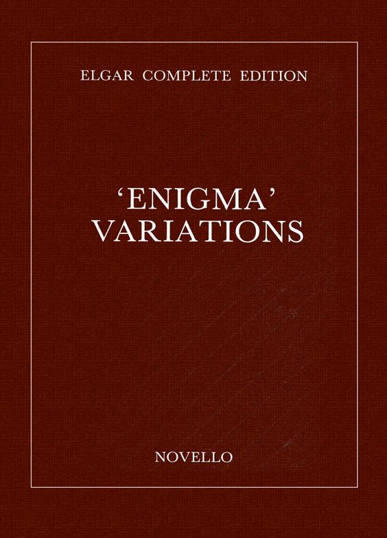 Edward Elgar: Enigma Variations Complete Edition (Paper): Orchestra: Score