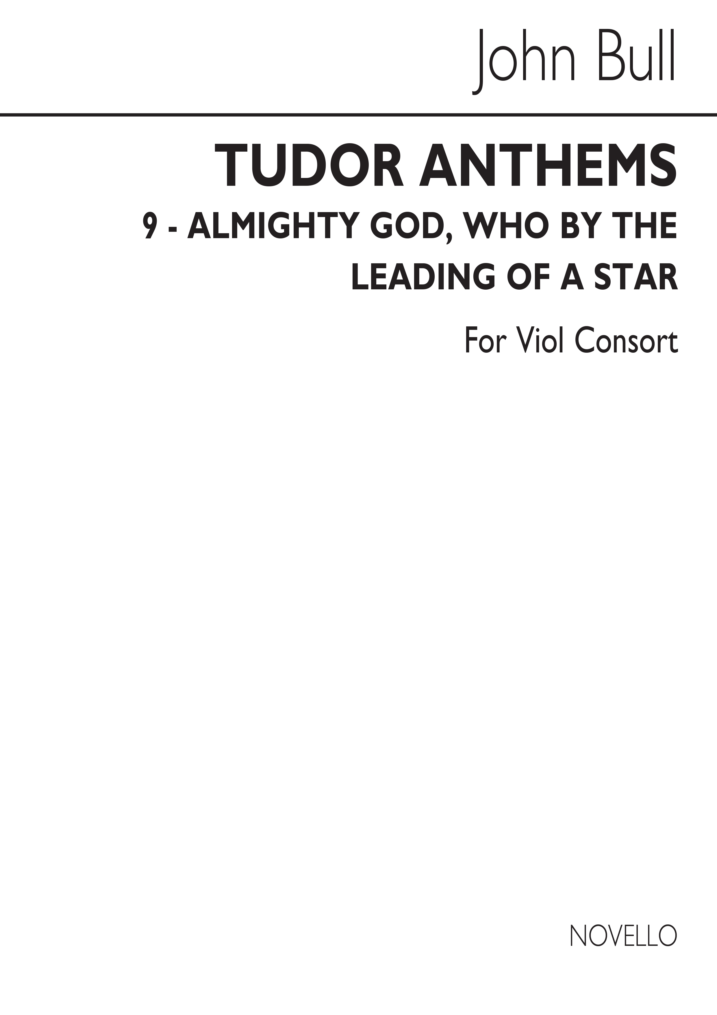 John Bull: Almighty God Who By The Leading Of A Star: Viol Consort: Score and