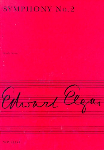 Edward Elgar: Symphony No. 2 In E Flat (Miniature Score): Orchestra: Miniature