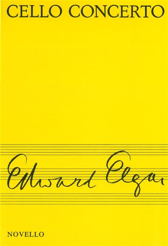 Edward Elgar: Cello Concerto Miniature Score: Cello: Score