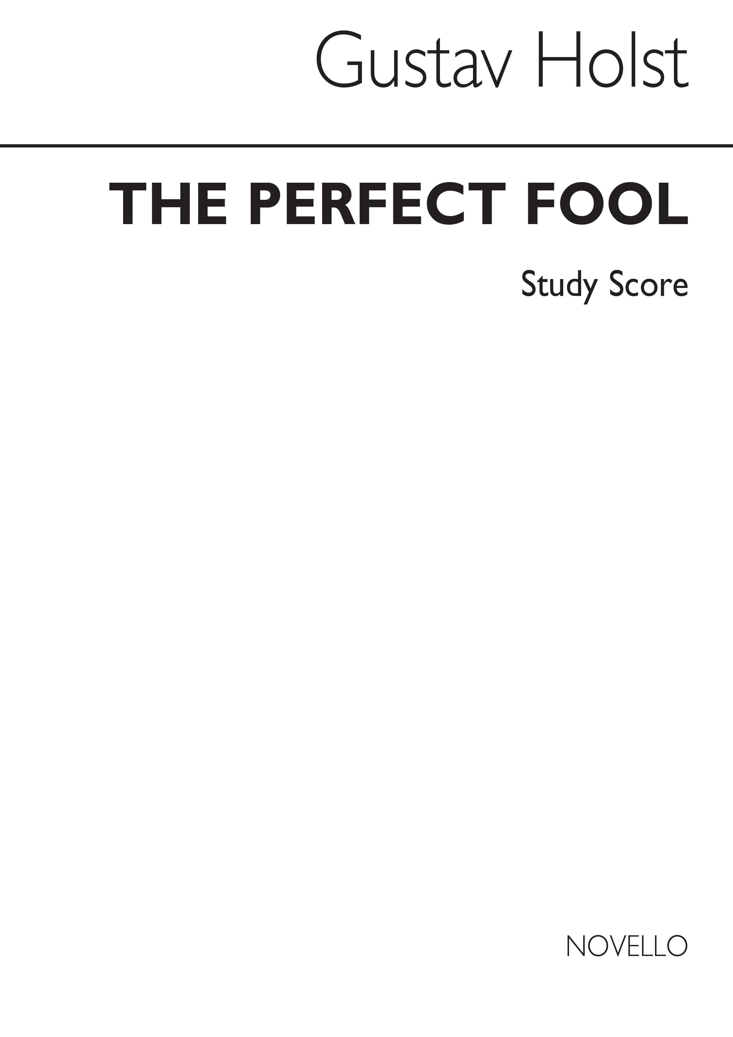 Gustav Holst: Perfect Fool Ballet Music (Miniature Score): Orchestra: Miniature