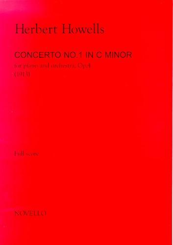 Herbert Howells: Piano Concerto No.1 In C Minor (Full Score): Piano: Score