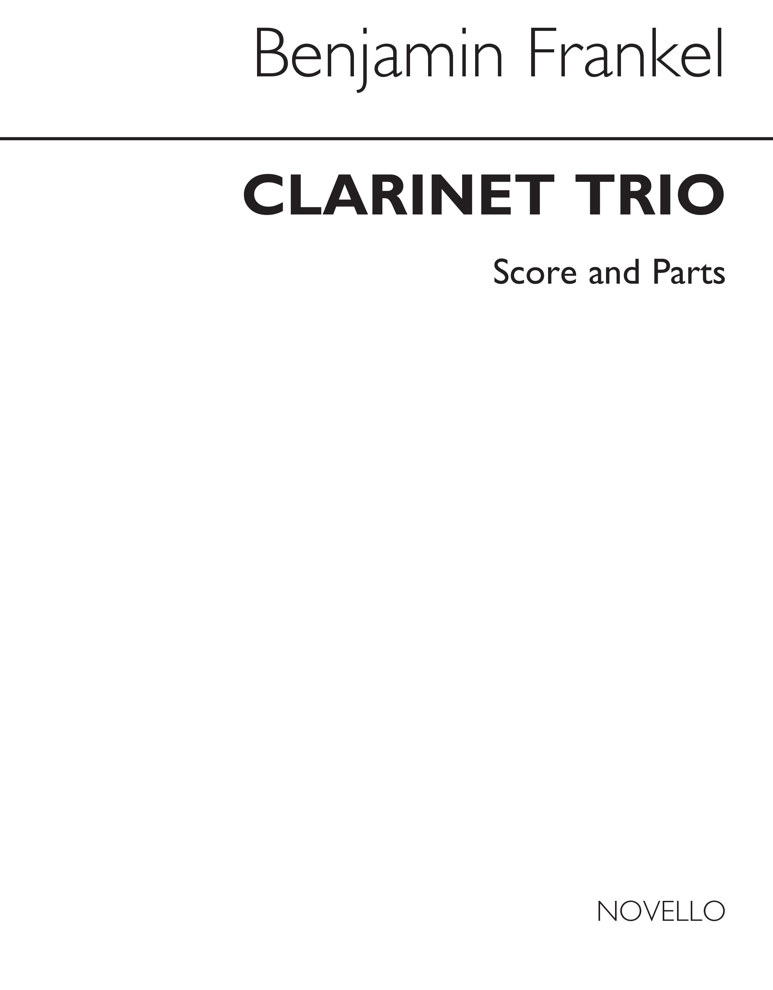 Benjamin Frankel: Trio Op.10: Clarinet & Cello: Instrumental Work