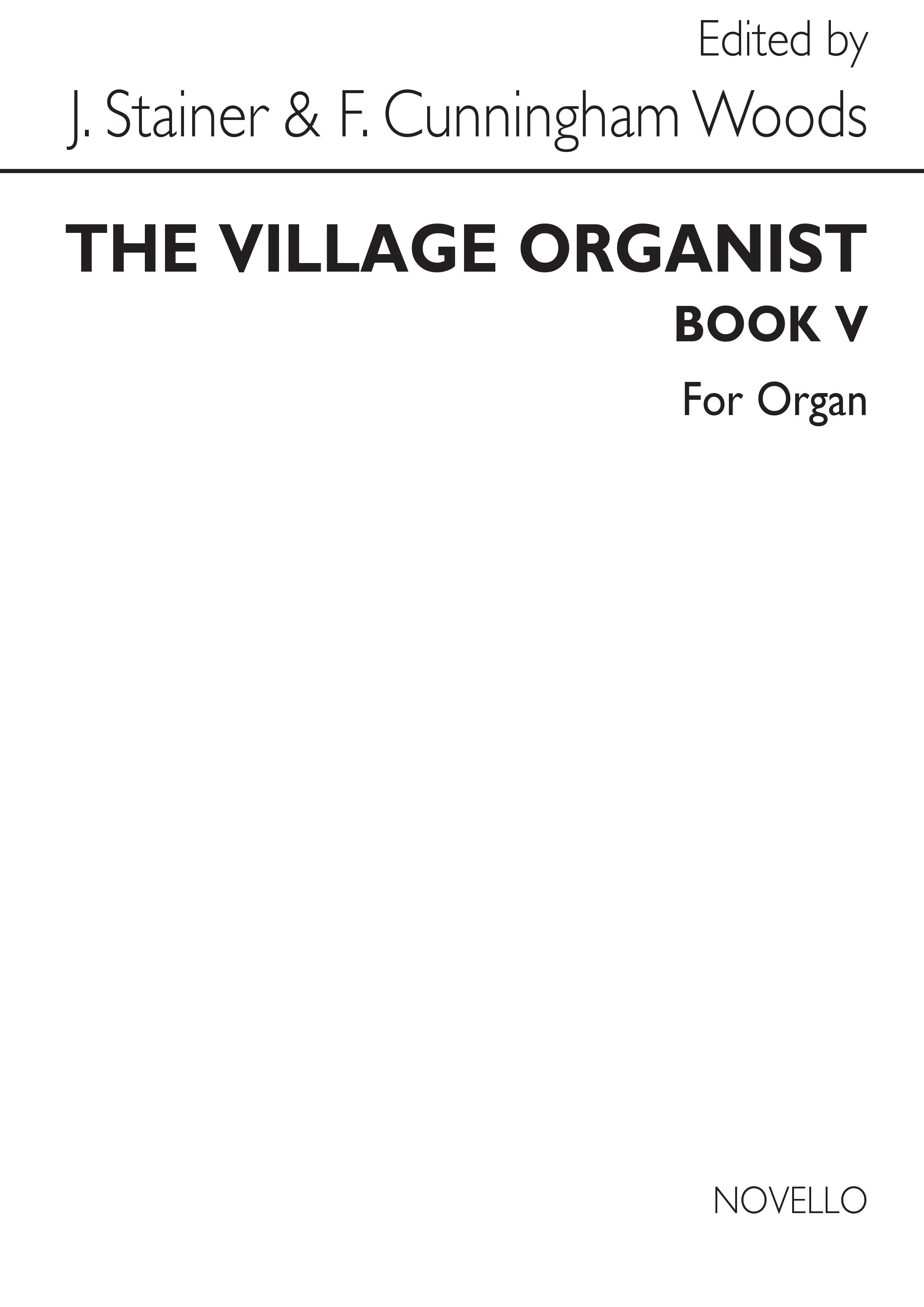 Village Organist Book 5: Organ: Instrumental Album