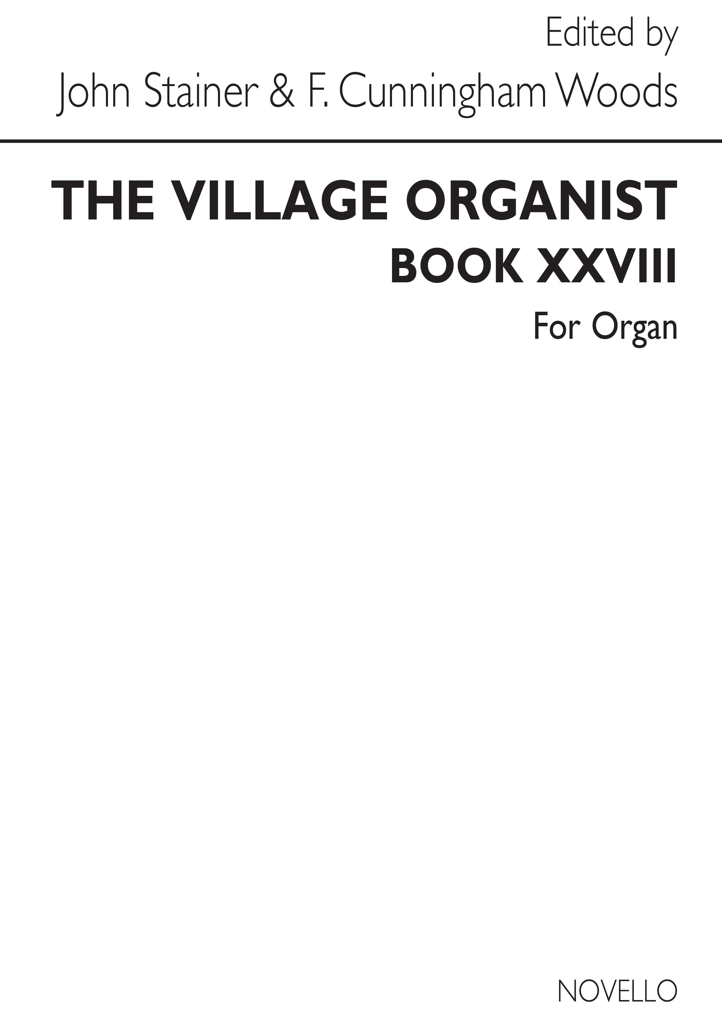Village Organist Book 28: Organ: Instrumental Album