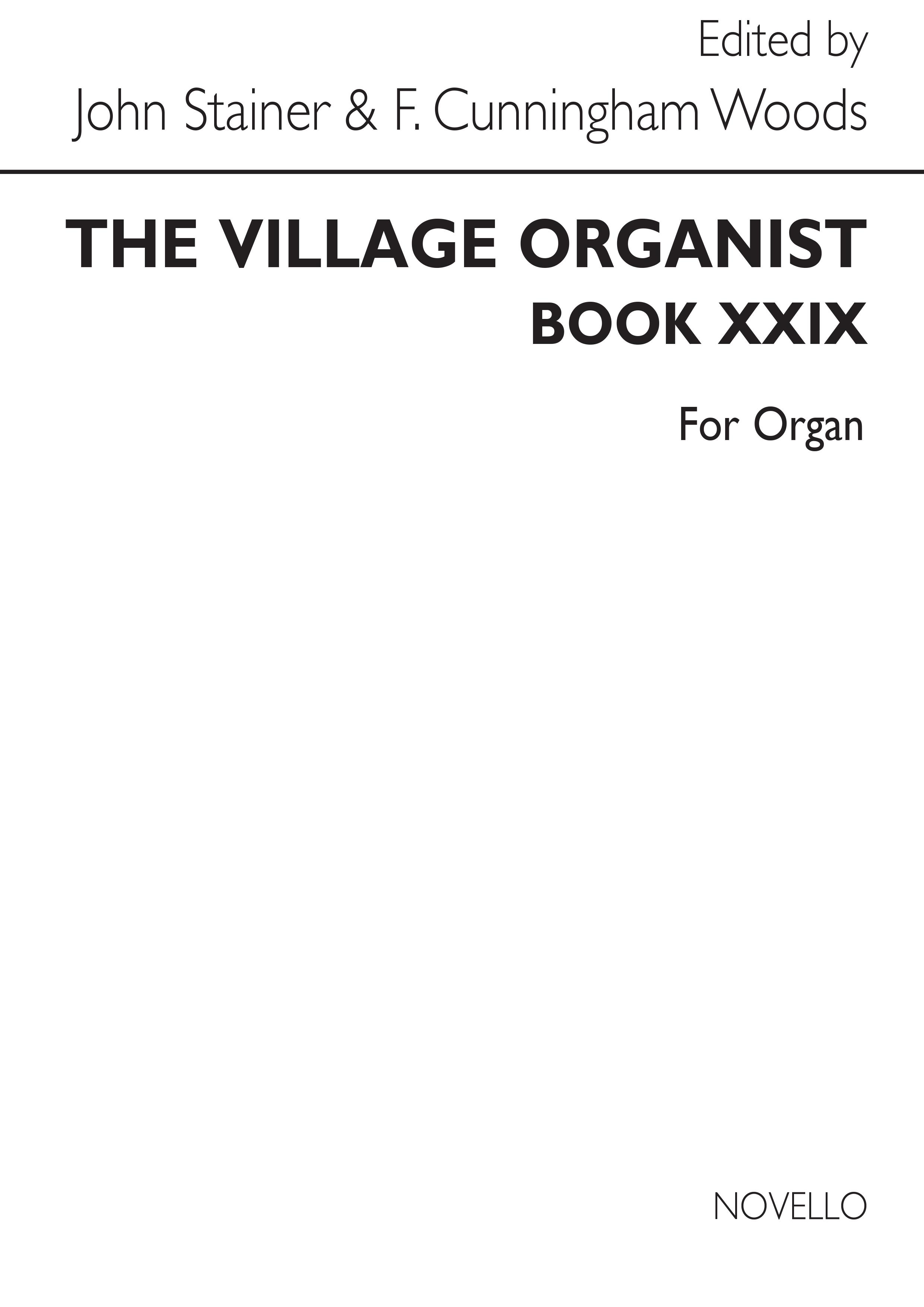 Village Organist Book 29: Organ: Instrumental Album