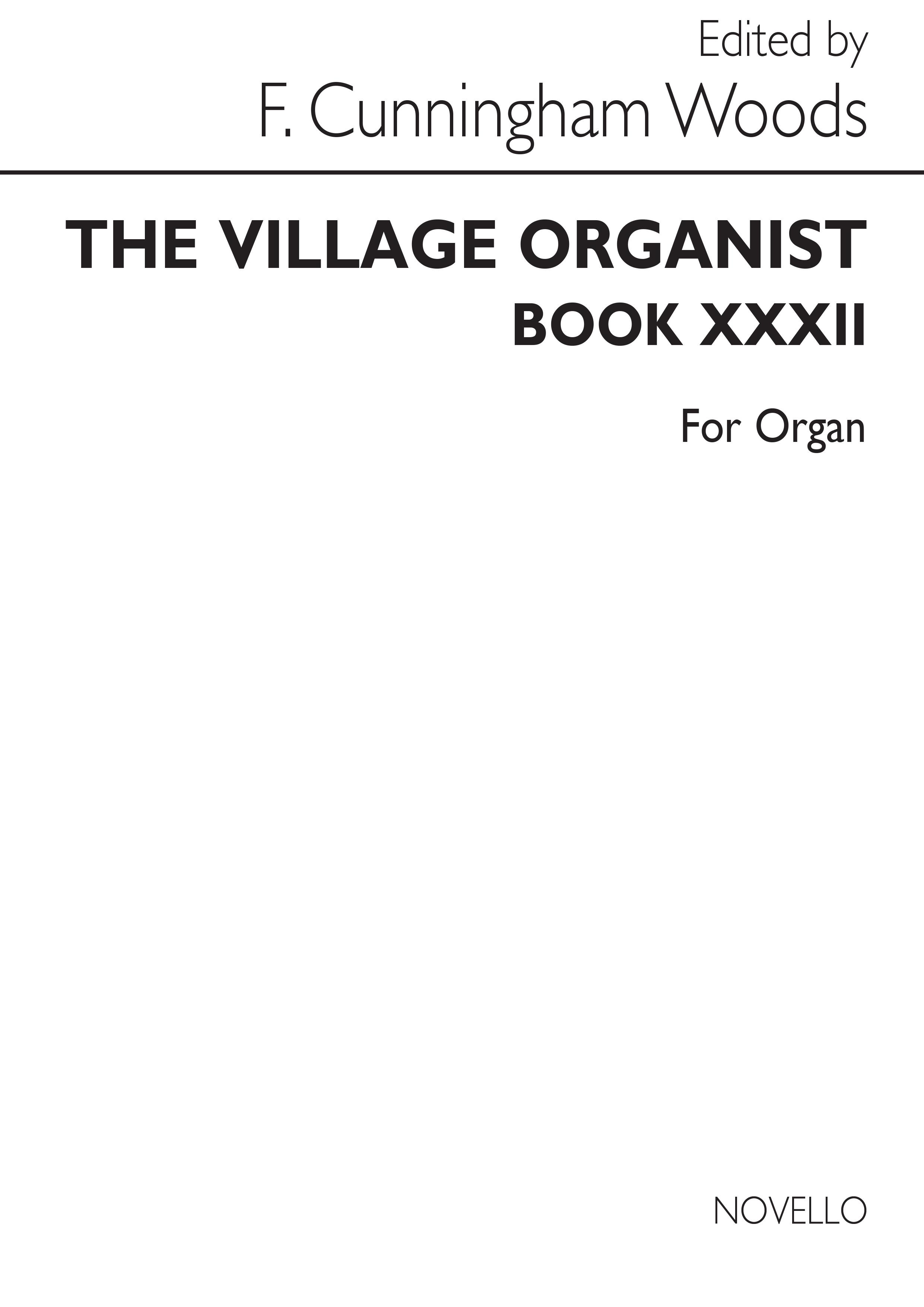 Village Organist Book 32: Organ: Instrumental Album
