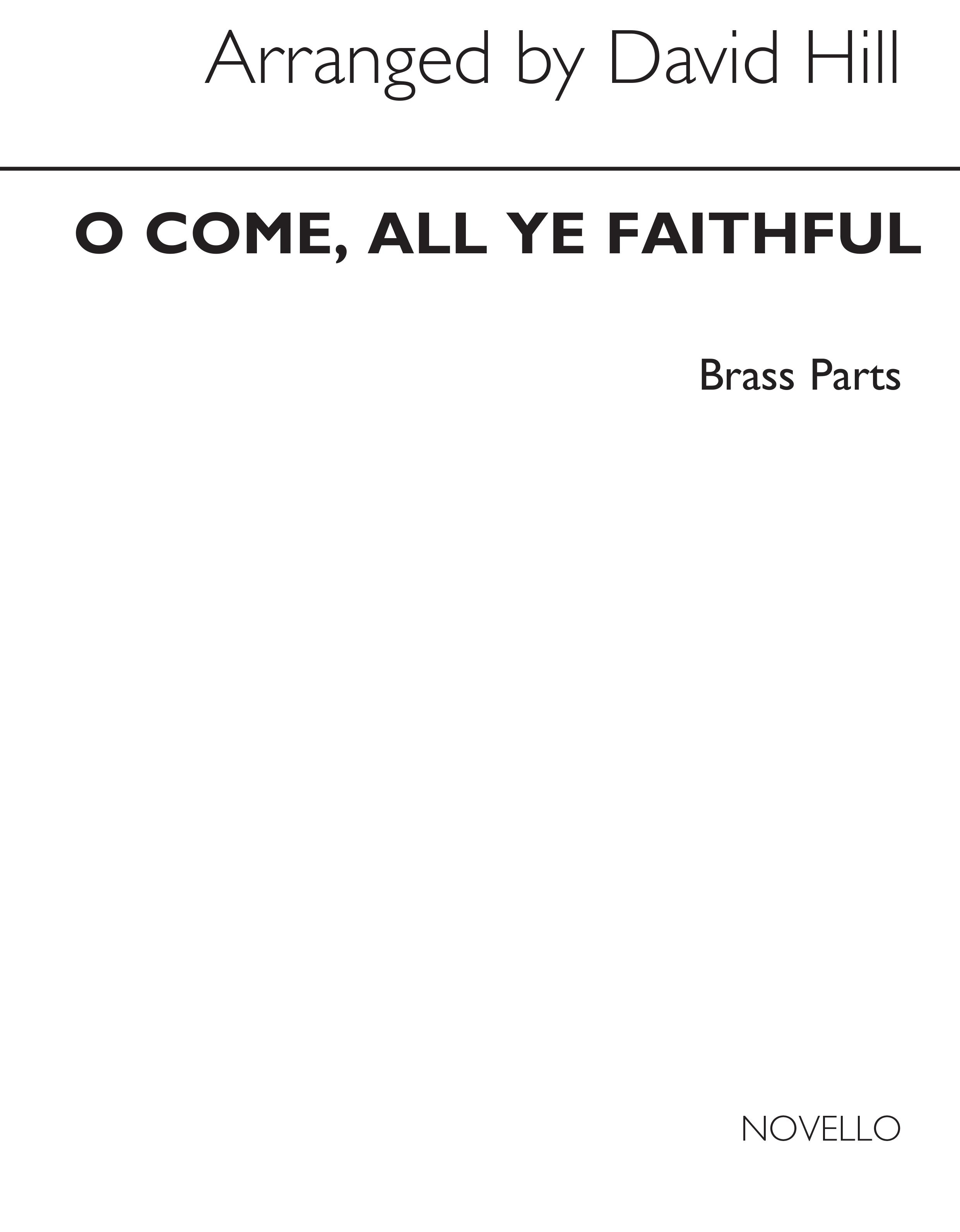 O Come All Ye Faithful: Brass Ensemble: Parts