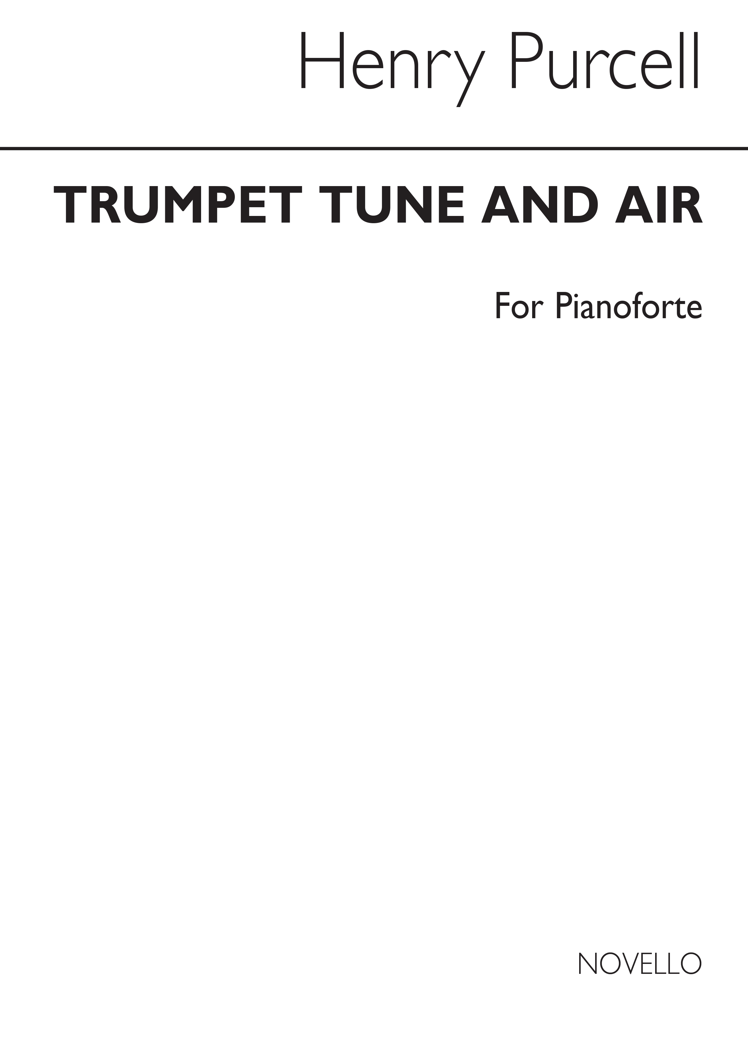 Henry Purcell: Trumpet Tune & Air Piano (Arr. Archer): Piano: Instrumental Work