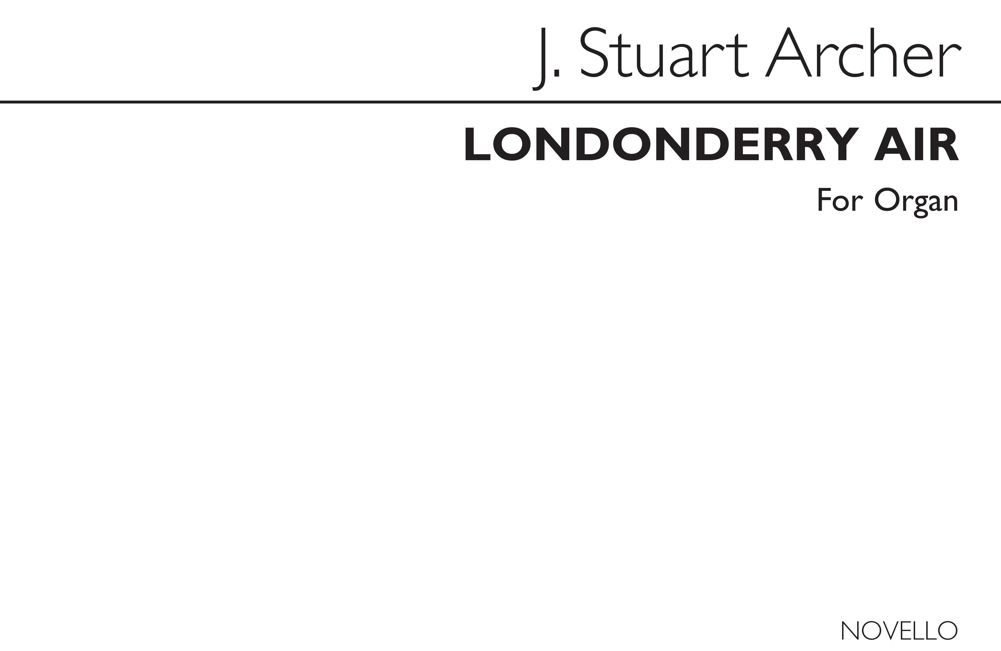 Londonderry Air (Organ): Organ: Instrumental Work