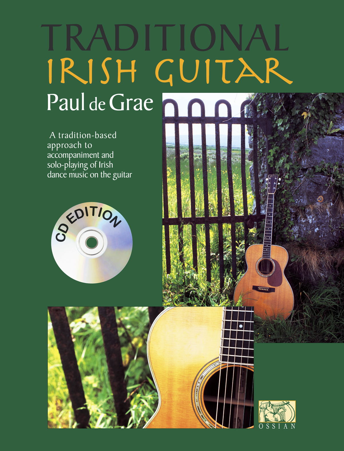 Paul De Grae: Traditional Irish Guitar (CD Edition): Guitar: Instrumental Album