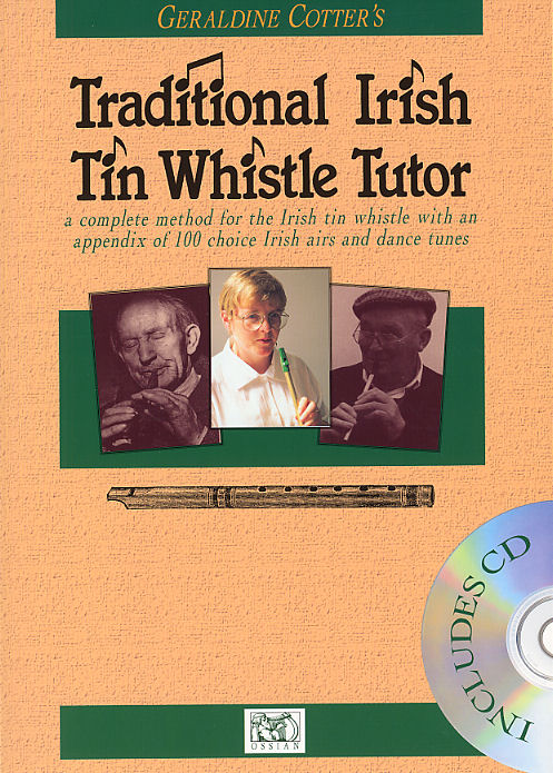 Geraldine Cotter: Geraldine Cotter's Traditional Irish Tin Whistle: Tin Whistle: