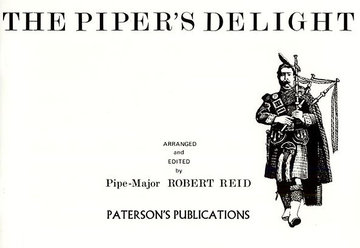 Ernest Read: Piper's Delight: Bagpipes: Instrumental Album