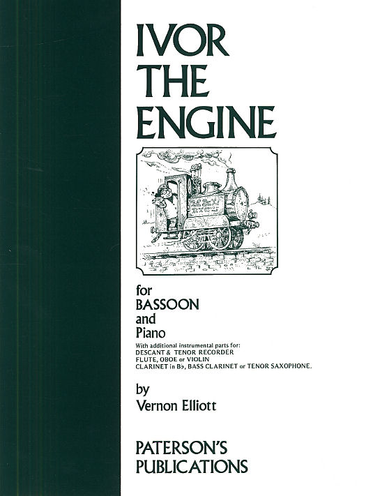 Vernon Elliott: Ivor The Engine For Bassoon and Piano: Bassoon: Instrumental