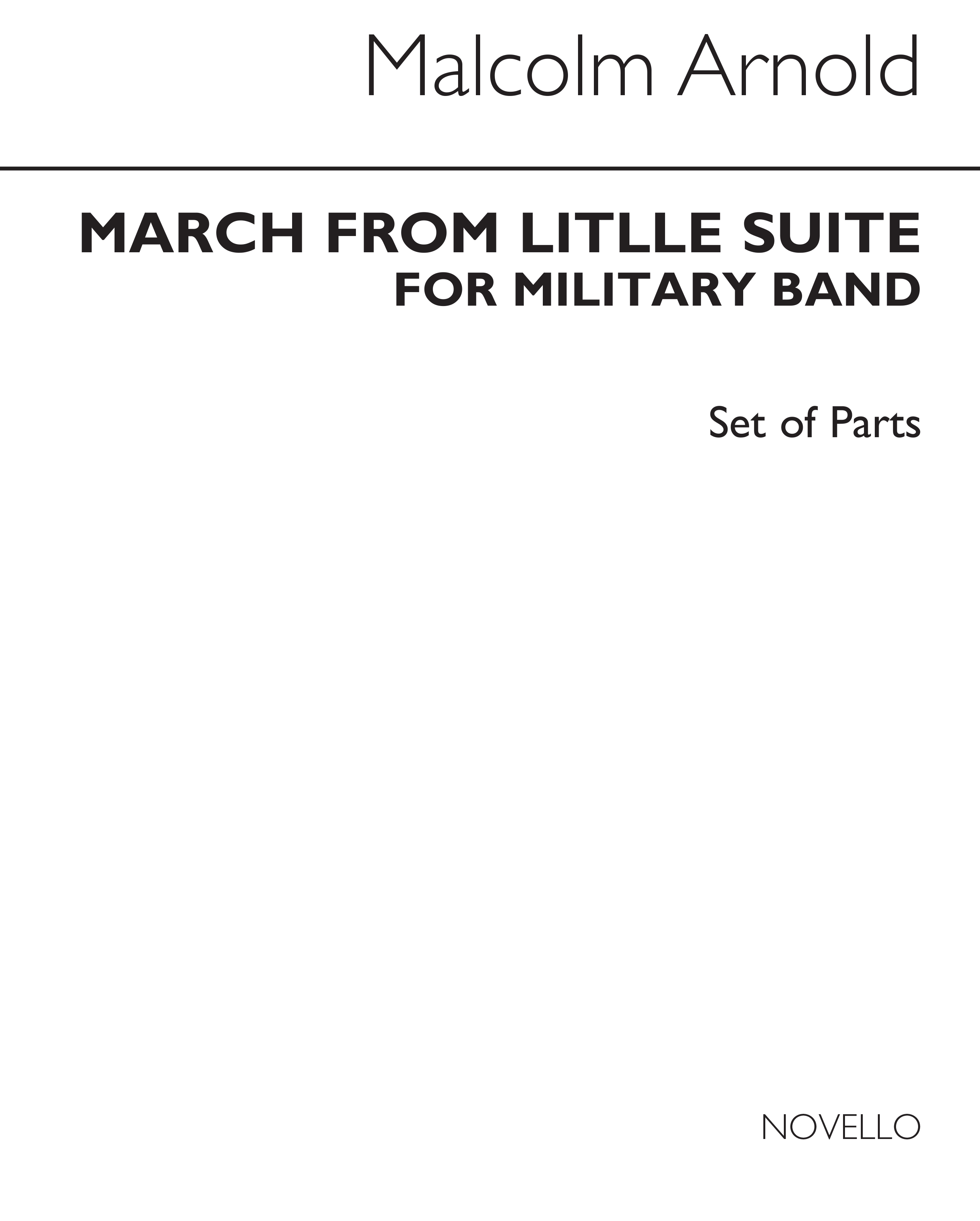 Malcolm Arnold: March From The Little Suite: Brass Ensemble: Instrumental Work