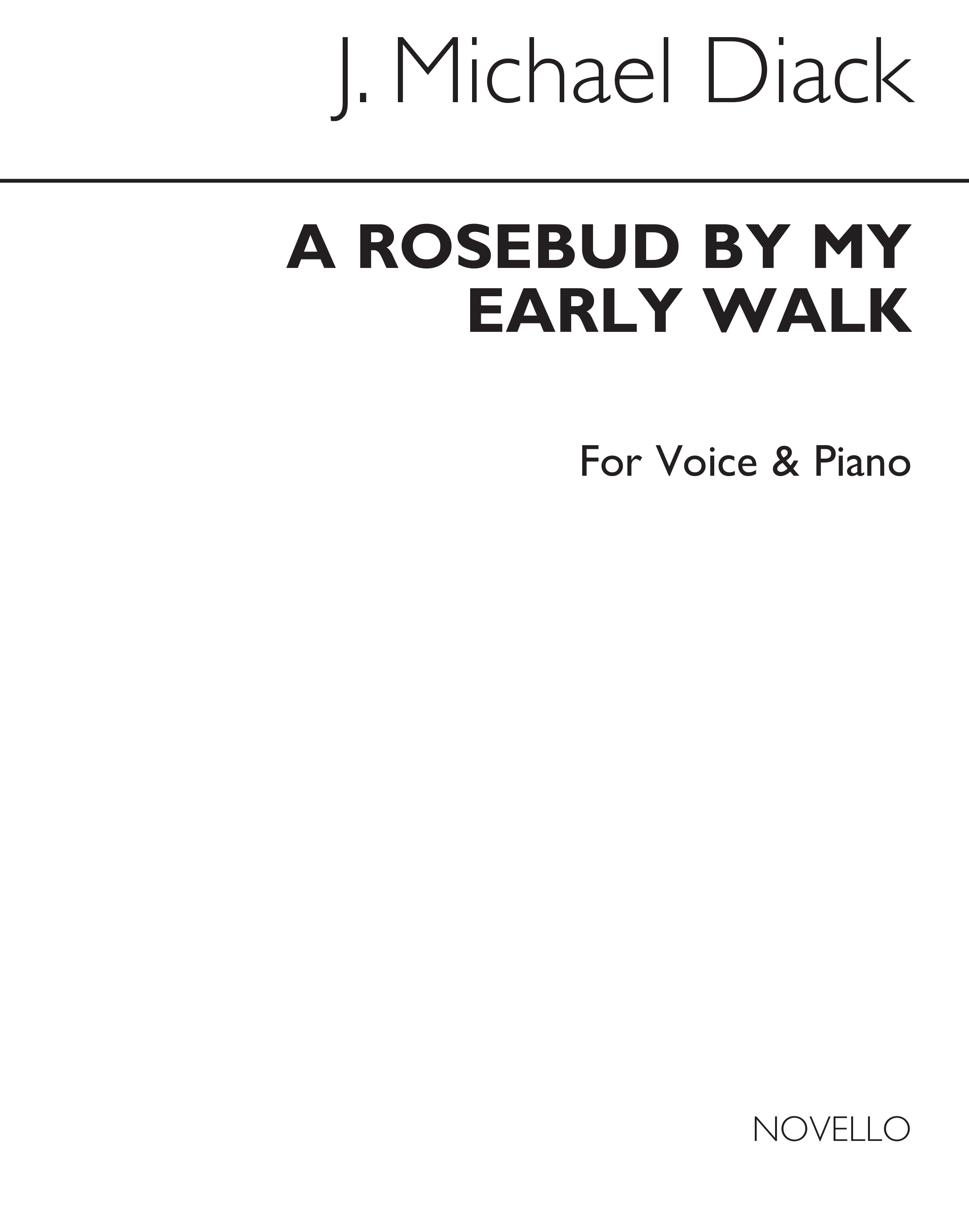 A Rosebud By My Early Walk: Voice: Vocal Work