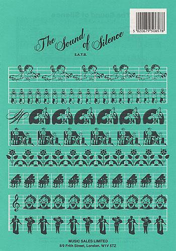 Paul Simon: The Sound of Silence: SATB: Vocal Score