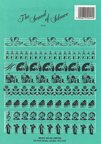Paul Simon Simon & Garfunkel: The Sound of Silence: SSA: Vocal Score
