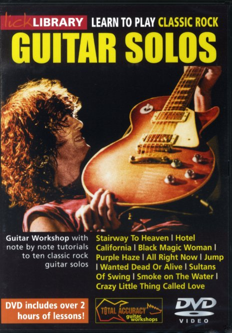 Learn To Play Classic Rock Guitar Solos: Guitar: Instrumental Tutor