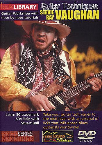 Stevie Ray Vaughan: Stevie Ray Vaughan Guitar Techniques: Guitar: Instrumental