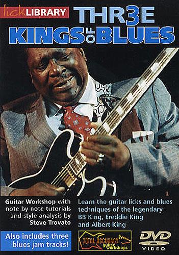 Albert King B.B. King: Three Kings Of Blues: Guitar: Instrumental Tutor