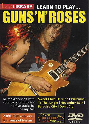Guns N' Roses: Learn To Play Guns N' Roses: Guitar: Instrumental Tutor