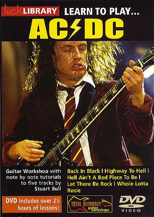 AC/DC: Learn To Play AC/DC: Guitar: Instrumental Tutor