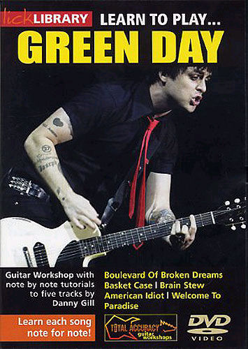 Green Day: Learn To Play Green Day: Guitar: Instrumental Tutor