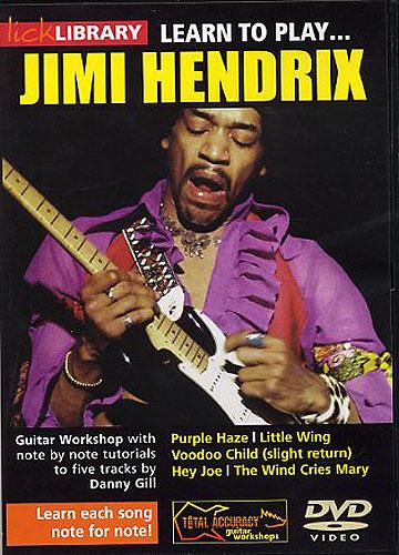 Jimi Hendrix: Learn To Play Jimi Hendrix: Guitar: Instrumental Tutor