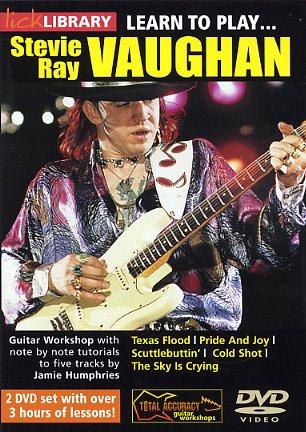 Stevie Ray Vaughan: Learn To Play Stevie Ray Vaughan: Guitar: Instrumental Tutor