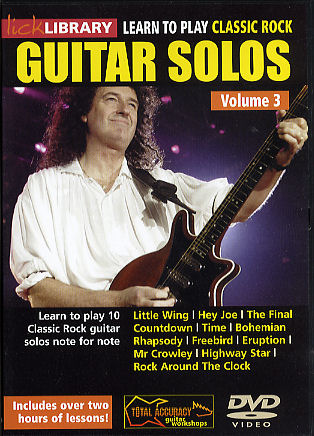 Danny Gill: Learn To Play Classic Rock Guitar Solos Volume 3: Guitar: