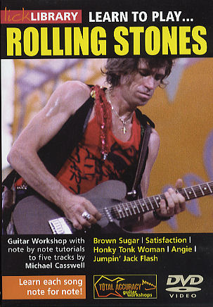Keith Richards: Learn To Play The Rolling Stones: Guitar: Instrumental Tutor