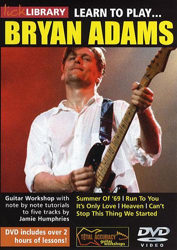 Bryan Adams: Learn To Play Bryan Adams: Guitar: Instrumental Tutor
