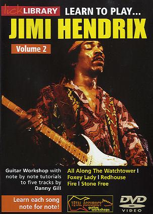 Jimi Hendrix: Learn To Play Jimi Hendrix Volume 2: Guitar: Instrumental Tutor